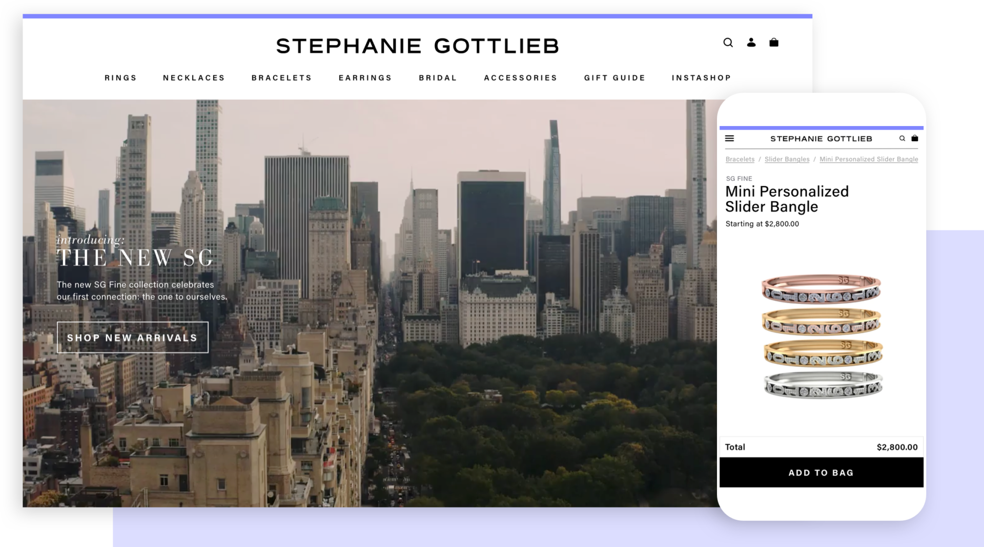An elevated customer experience for Stephanie Gottlieb