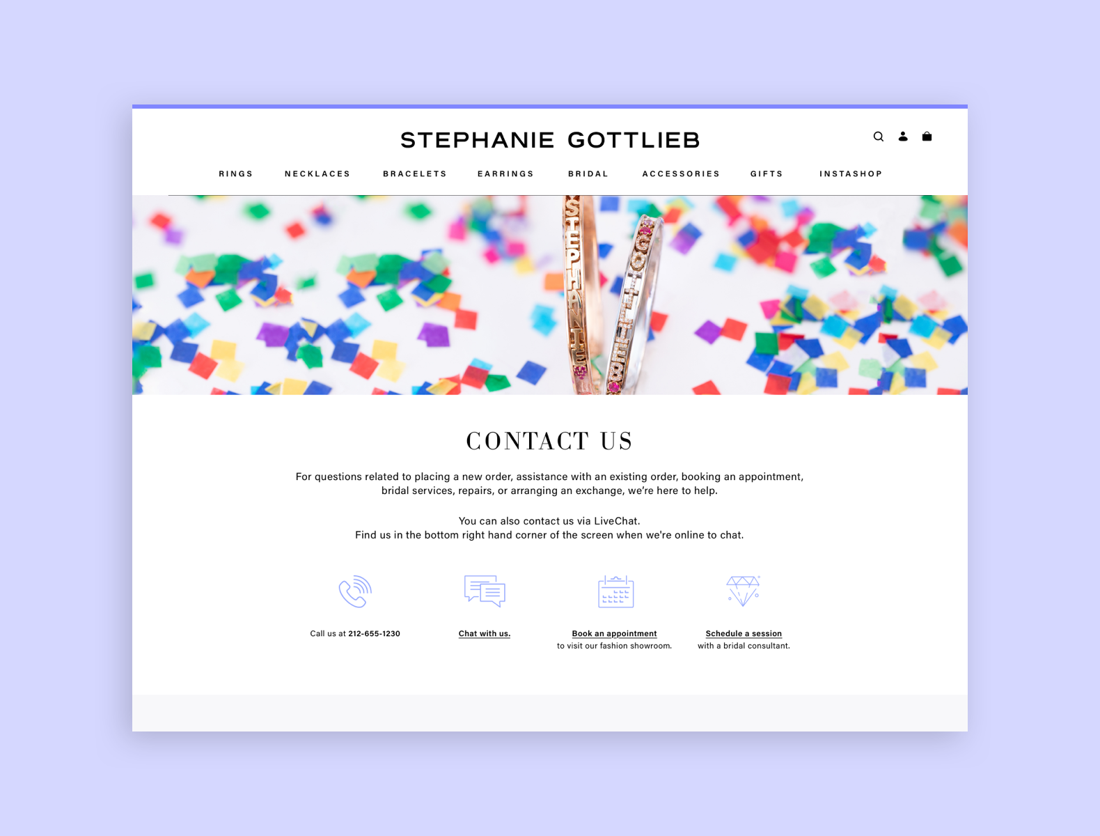 Stephanie Gottlieb Contact Us